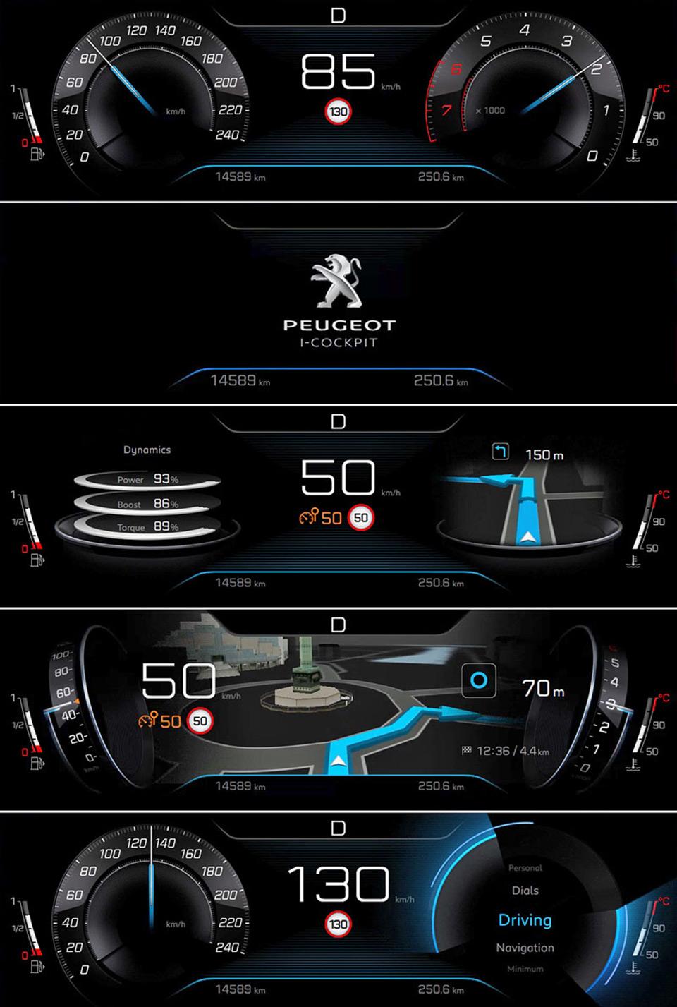Peugeot dévoile le nouvel i-Cockpit de la Peugeot 3008 II